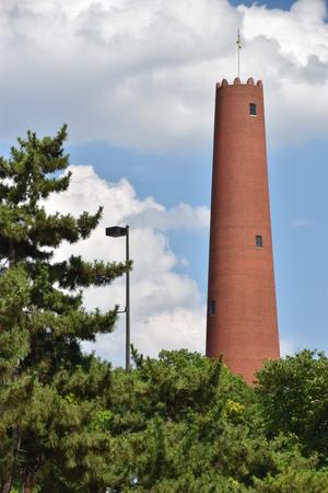 Phoenix Shot Tower in Baltimore, Maryland