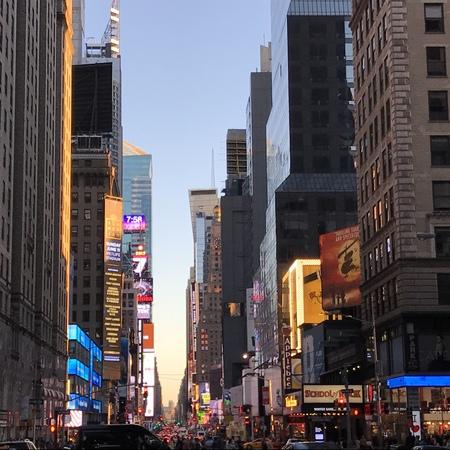 뉴욕 타임즈 스퀘어 에디토리얼