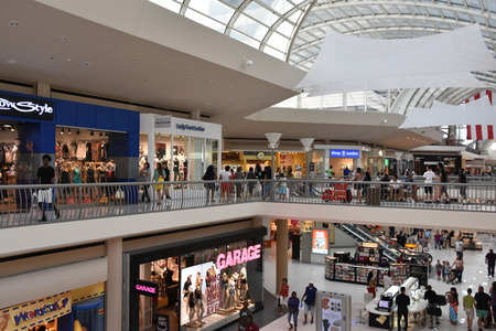 Riverchase Galleria shopping mall in Birmingham, Alabama 新聞圖片