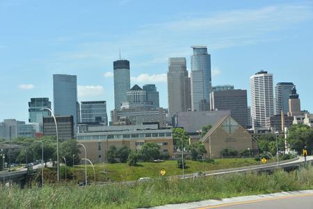 Downtown Minneapolis in Minnesota