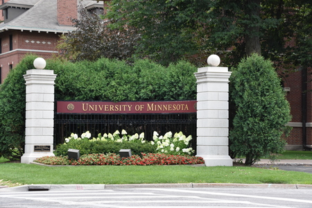Entrance to the campus of the University of Minnesota