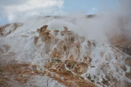 Mammoth Hot Springs at Yellowstone National Park