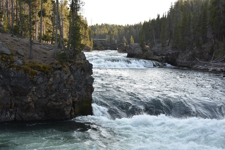 Upper Falls of the Grand Canyon of Yellowstone National Park