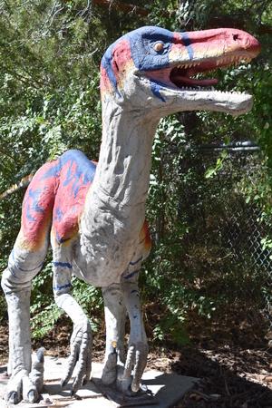 George S. Eccles Dinosaur Park in Ogden, Utah