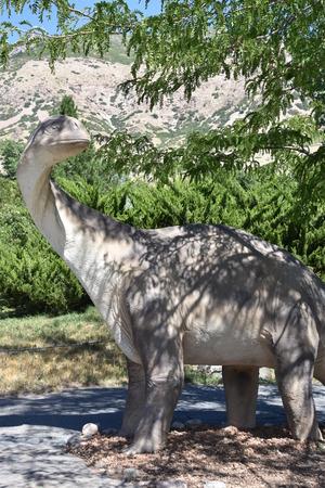 George S. Eccles Dinosaur Park in Ogden, Utah Banco de Imagens - 101826299
