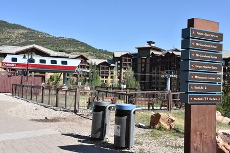 Canyons Village at Park City in Utah Editorial