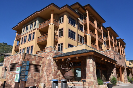 Canyons Village at Park City in Utah 新聞圖片
