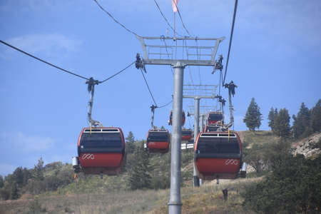 Red Pine Gondola at Canyons Village in Park City, Utah