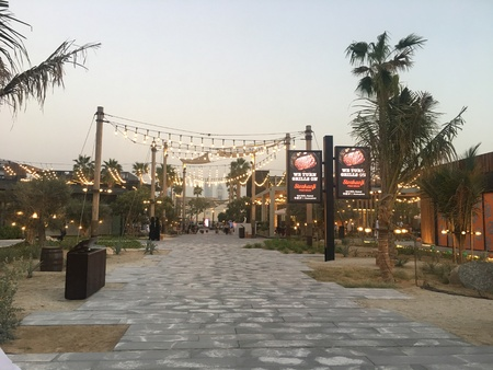La Mer in Dubai, UAE, as seen on Feb 15, 2018. It is a new beachfront district with shopping and restaurants in Jumeirah.