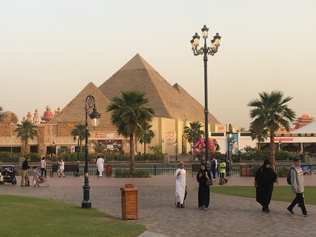 Global Village in Dubai, UAE, as seen on Mar 17, 2018 Editorial