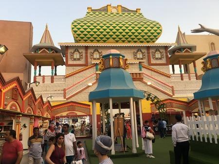 Russia pavilion at Global Village in Dubai, UAE, as seen on Mar 17, 2018