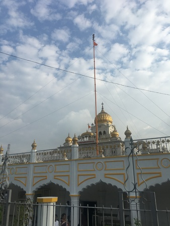 Gurudwara Bangla Sahib in Delhi, India