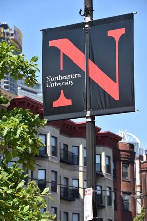 Northeastern University in Boston, Massachusetts 報道画像