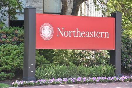Northeastern University in Boston, Massachusetts Editorial