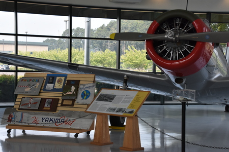 Evergreen Aviation Museum in McMinnville, Oregon Editorial