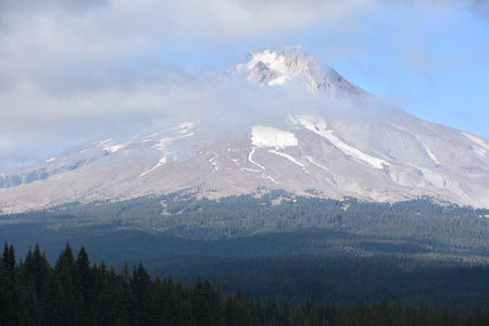 View of Mount Hood in Oregon, USA