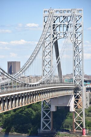 George Washington Bridge in New York and New Jersey
