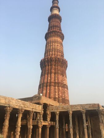 Qutab Minar Complex in Delhi, India