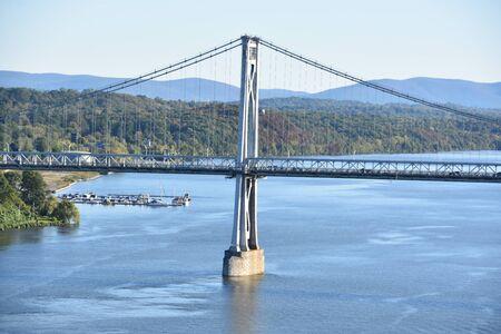 Mid-Hudson Bridge in Poughkeepsie, New York