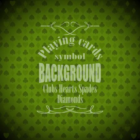 blackjack: playing, poker, blackjack cards symbol background sample text. Illustration
