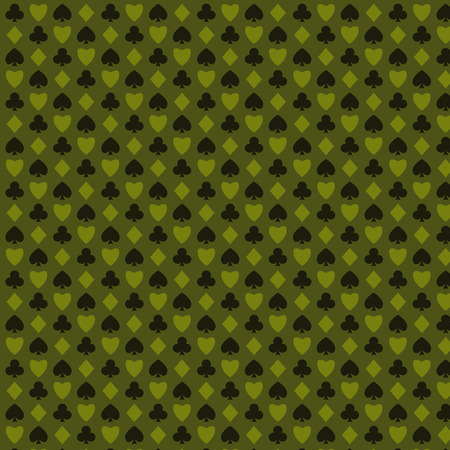 blackjack: playing, poker, blackjack cards symbol seamless psttern green