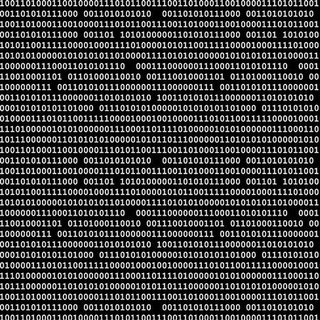 バイナリ コードのシームレスなパターン ベクトル背景イラスト黒。  イラスト・ベクター素材