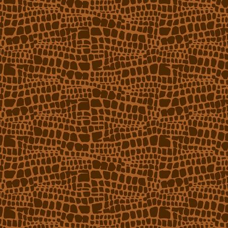 Animal skin hand drawn texture, Vector seamless pattern, sketch drawing animal skin print.