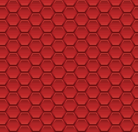 Abstract seamless pattern background with hexagon elements vector illustration.