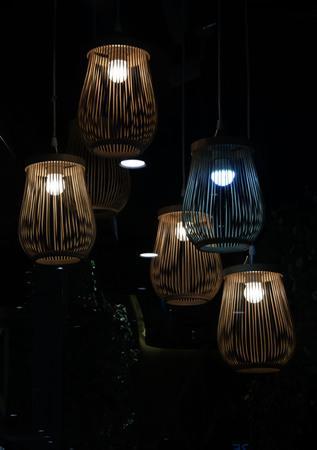 chic: Chic lantern lighting