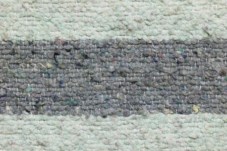 Texture of blanket made by rag fabric. Concept of recycle product or global warming. Reklamní fotografie