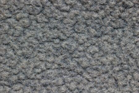 Texture di coperta grigia. Concetto di vestiti o moda.