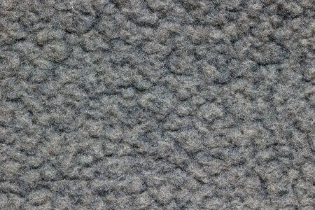 Texture of gray blanket. Concept of clothes or fashion.