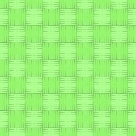 Woven bamboo pattern seamless texture. Wicker basket background. Concept of Reduce global warming. vector illustration flat design.