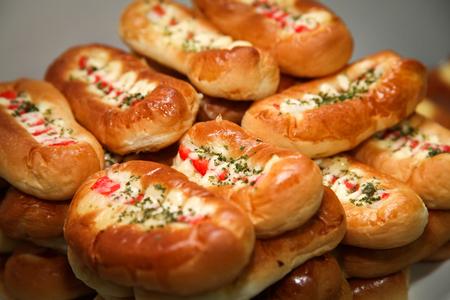 bap: Bread rolls.
