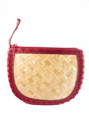 coin purses: Handmade Bamboo Coin Purses