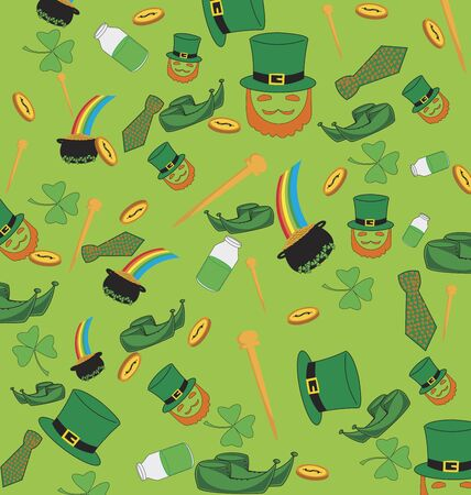 Seamless Saint Patricks pattern