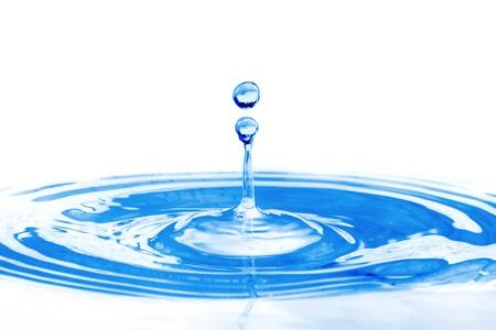 Drop of water Standard-Bild