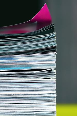 stack of magazines Standard-Bild