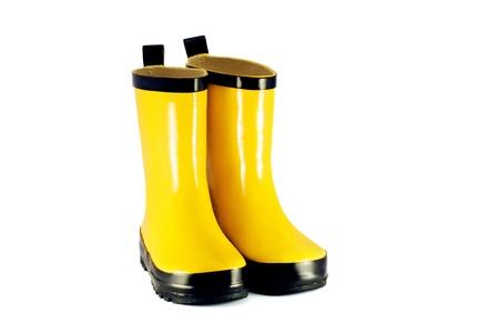 Yellow children s boots