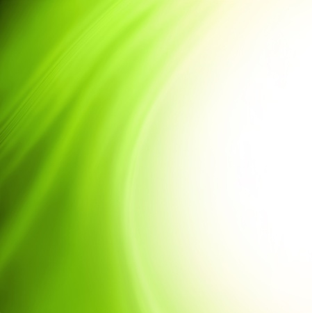 green swirl: Green abstract background
