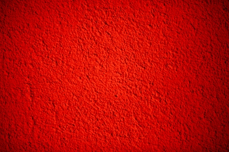 red centre: Red painted wall