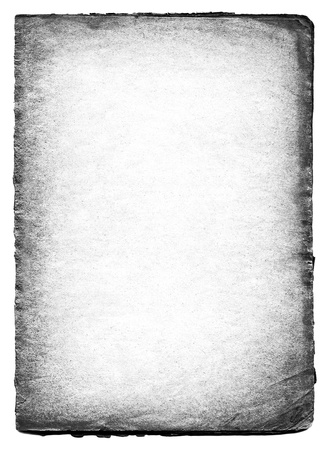 Black and white old paper background  photo