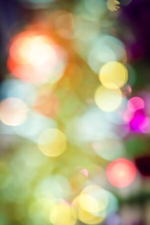 Abstract background of Christmas tree lights Stock Photo - 23665013