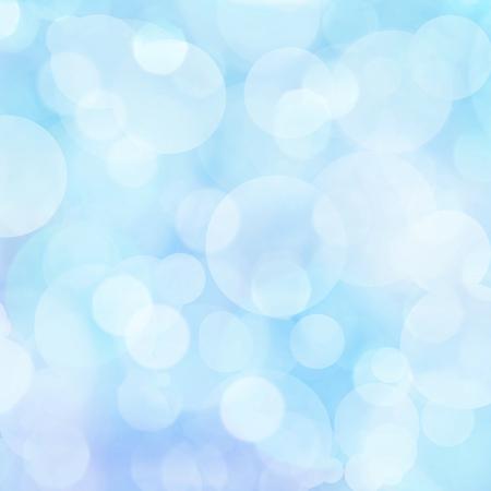 Soft blue lights background