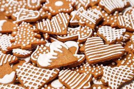 gingerbread heart: Gingerbread cookies