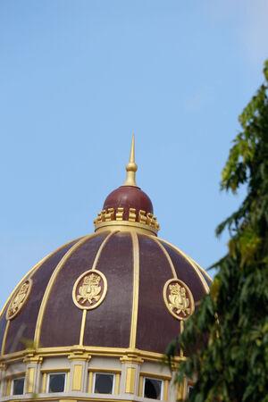 emporium: dome of emporium from hatyai thailand Editorial
