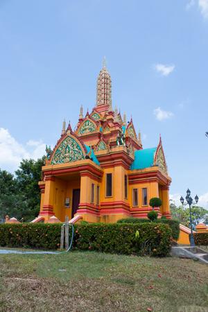 southern of thailand: Pillar of Phangnga Southern Thailand Stock Photo