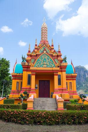southern thailand: Pillar of Phangnga Southern Thailand Stock Photo