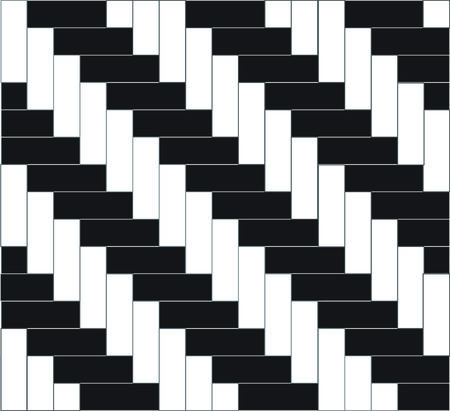 alternating: Background caused by alternating colors.