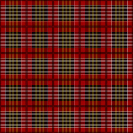 plaid red white  black  pattern. photo